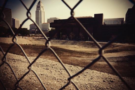 City Hall Through a Fence